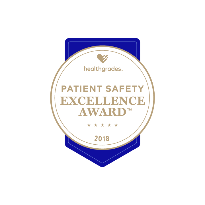 Healthgrades 2018 Patient Safety Award