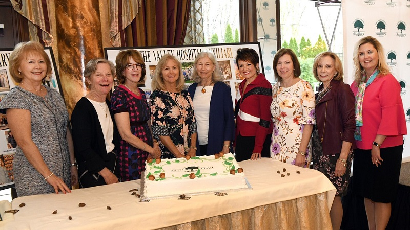 The Auxiliary's 75th anniversary event