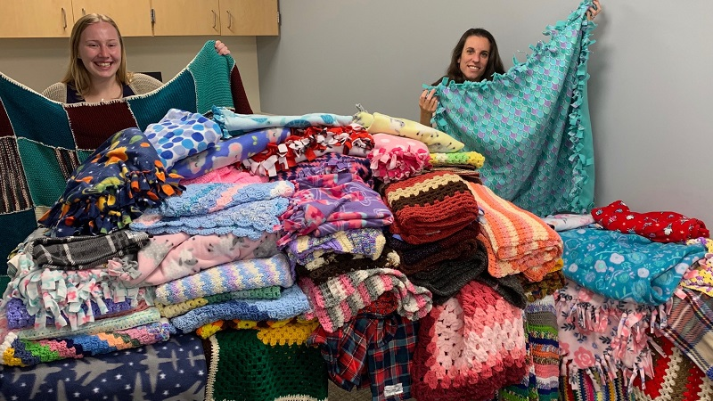 Project Linus blanket donation