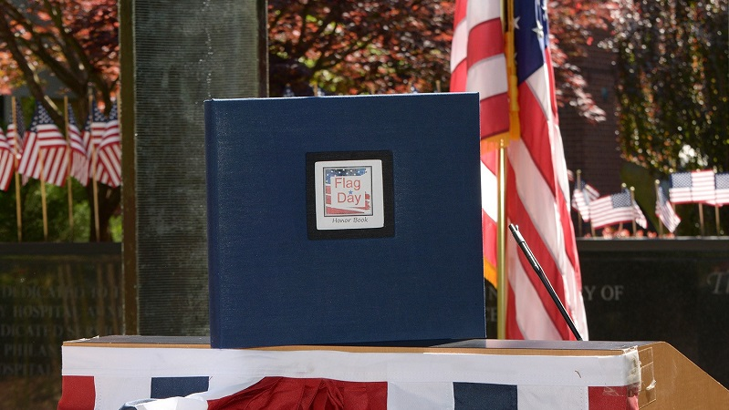 Flag Day Honor Book