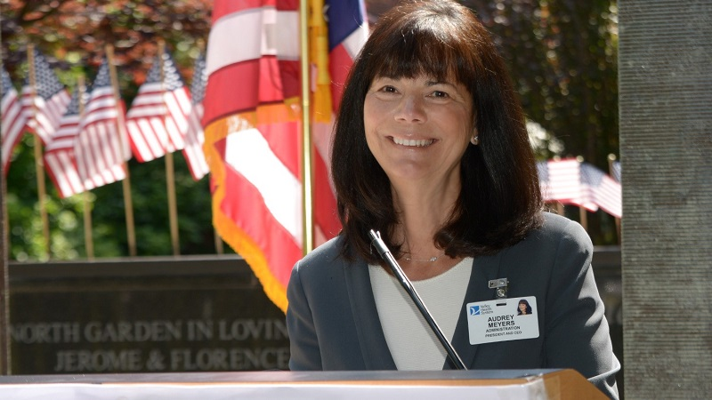 Audrey Meyers, President & CEO of Valley Health System