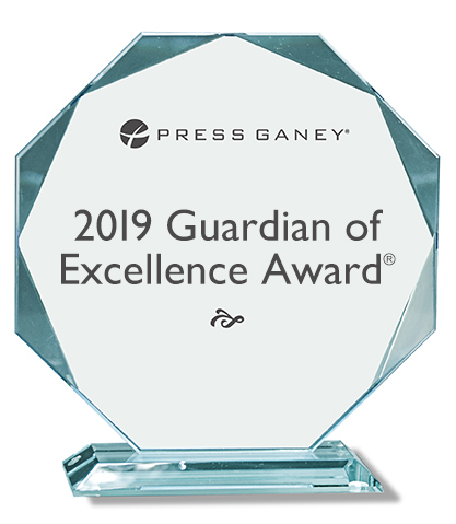 2019 Press Ganey Guardian of Excellence Award