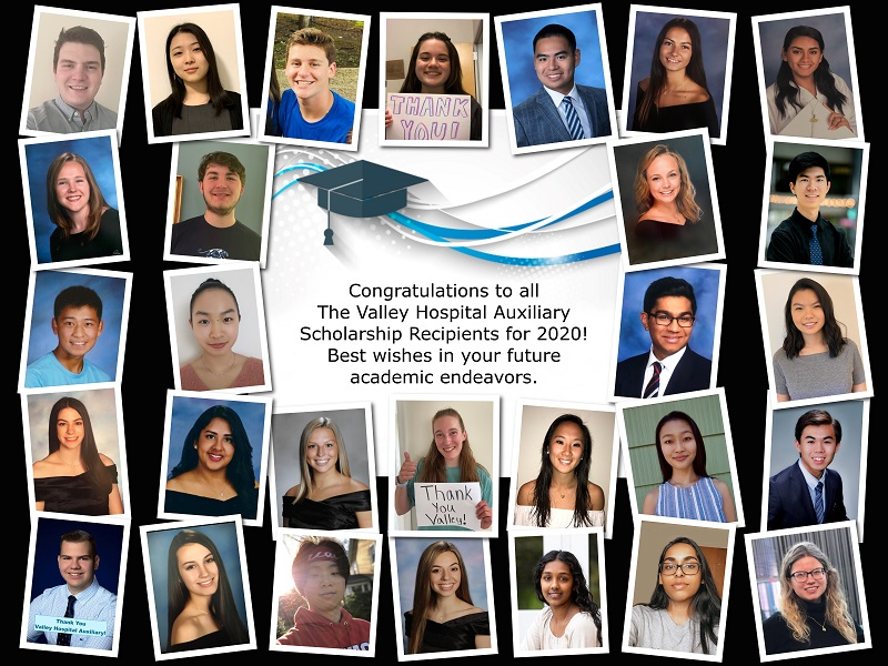 2019 Auxiliary scholarship recipients