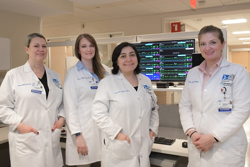 Electrophysiology advanced practice providers at Valley