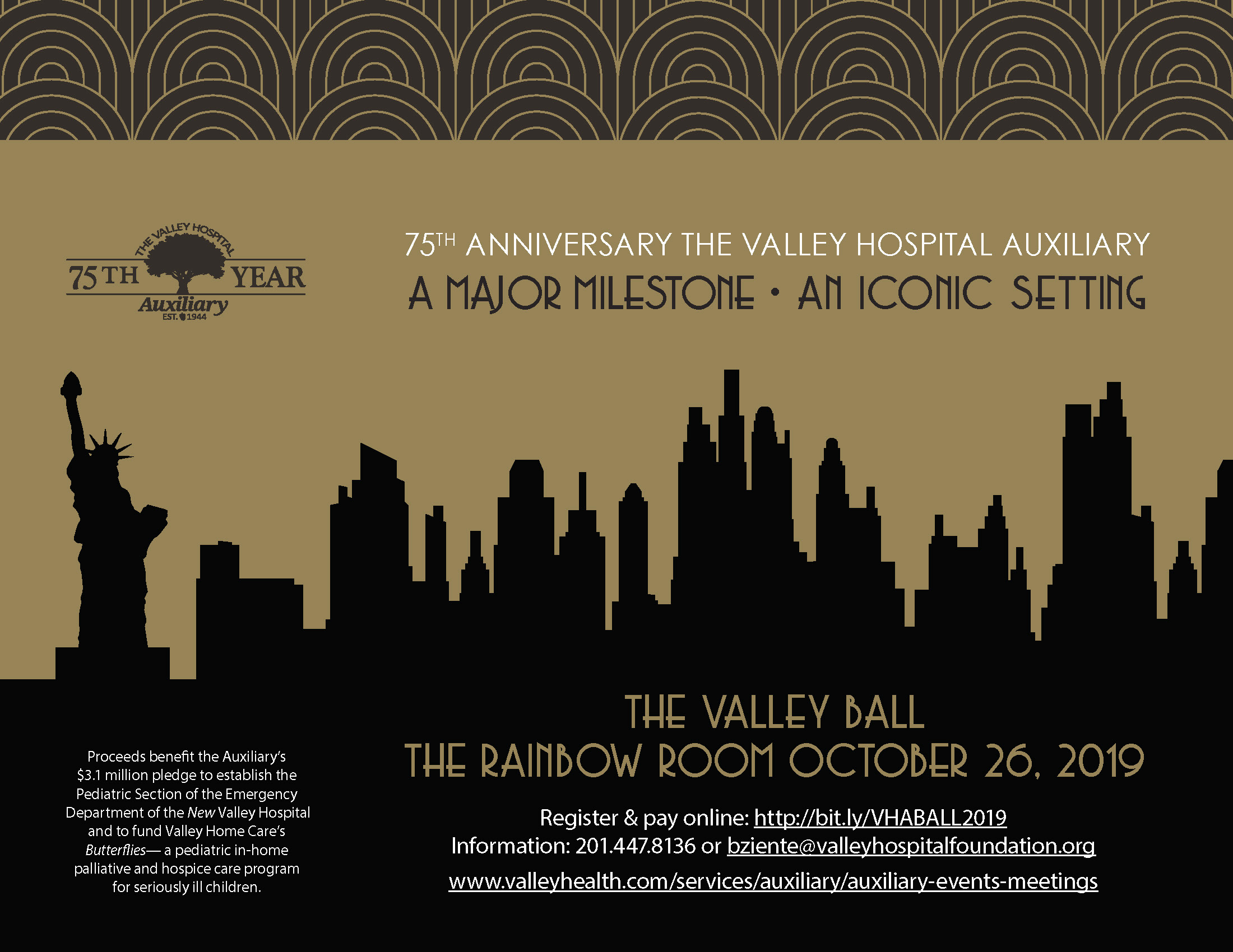 Save the Date - The 2019 Valley Ball