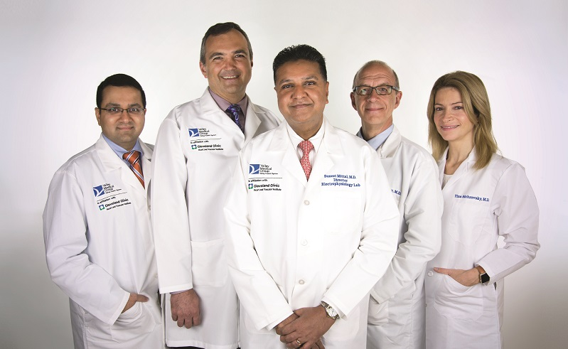 Valley's electrophysiology team
