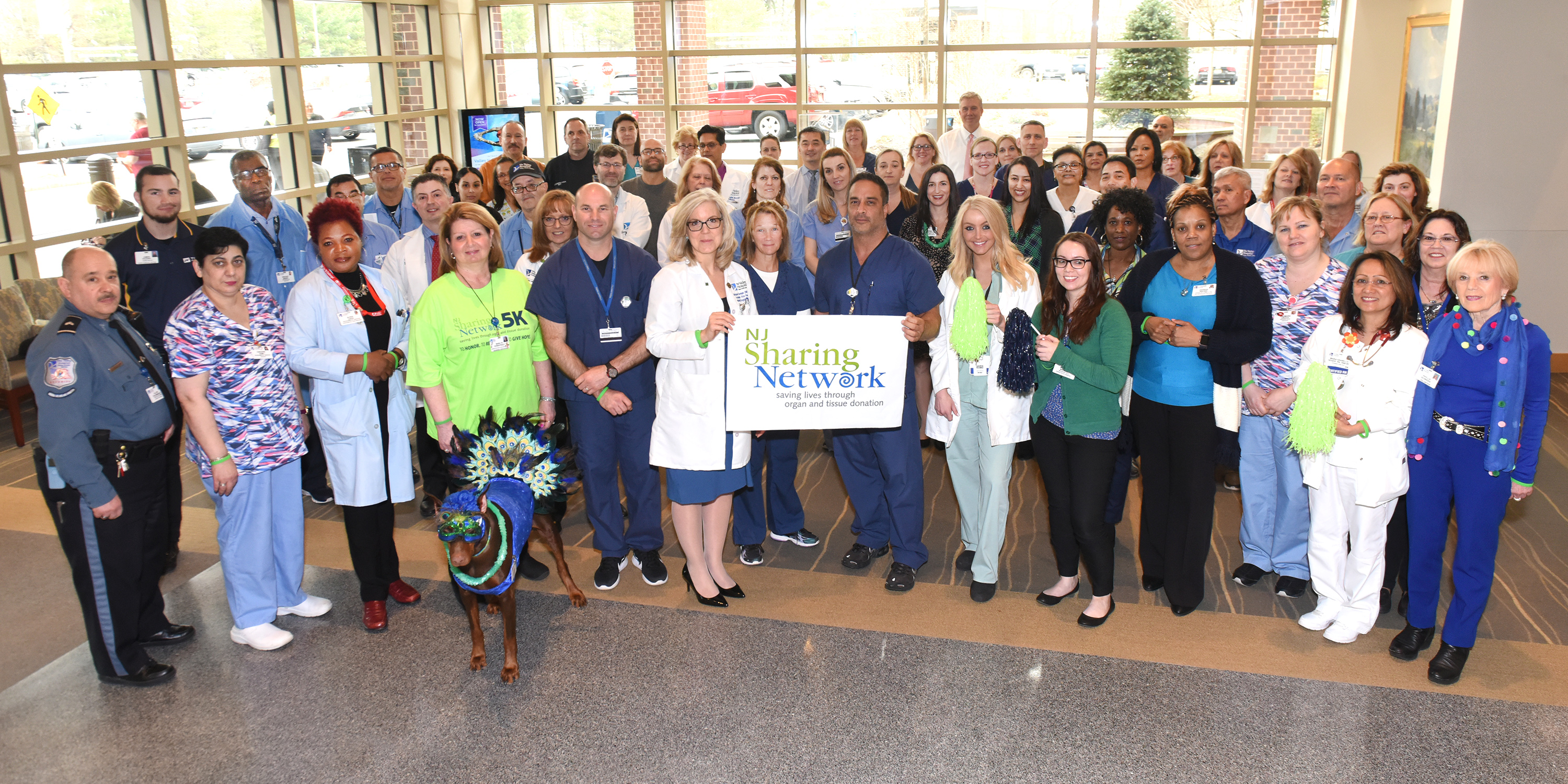 The Valley Hospital shows its support on National Donate Life Day