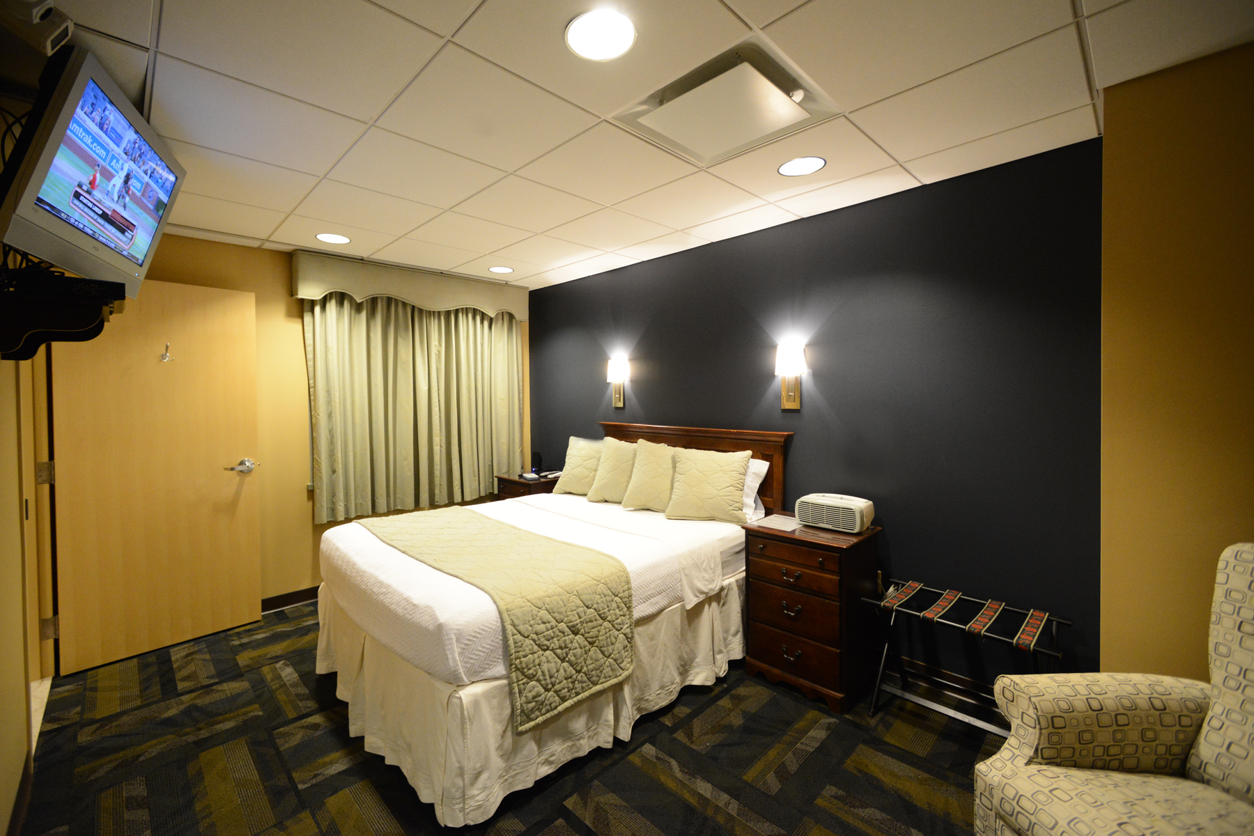 A private sleep study room at Valley's Center for Sleep Medicine