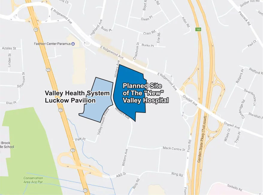 New Valley Hospital Site Plan