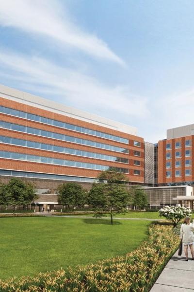 New Valley Hospital in Paramus NJ rendering