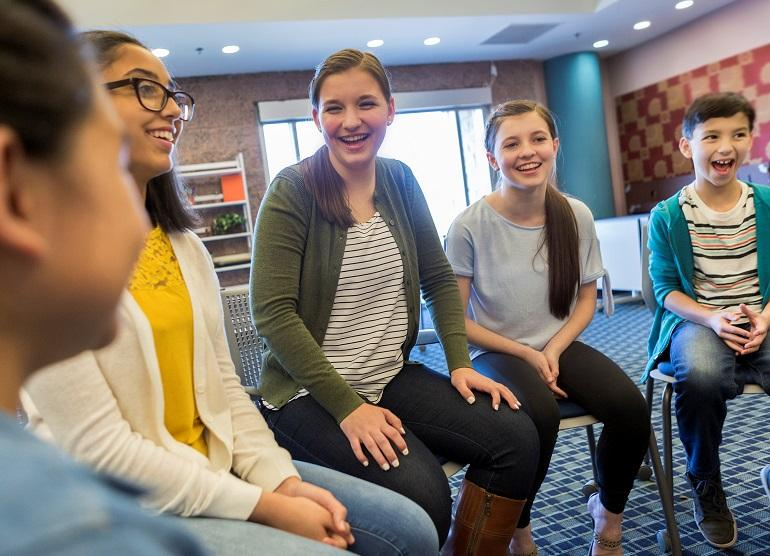 IBD Peer Support Group with adolescents and teens