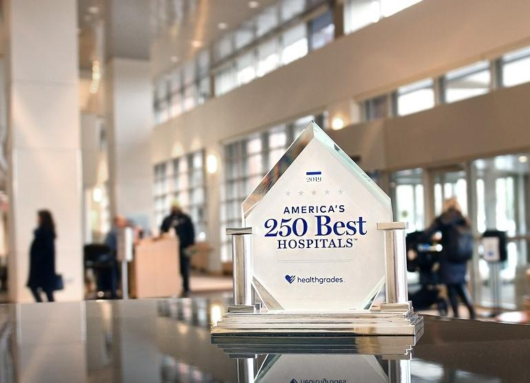 Healthgrades 250 Best Hospitals Award for The Valley Hospital