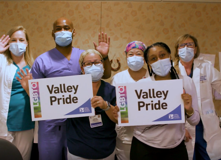Valley employees celebrate Pride Month