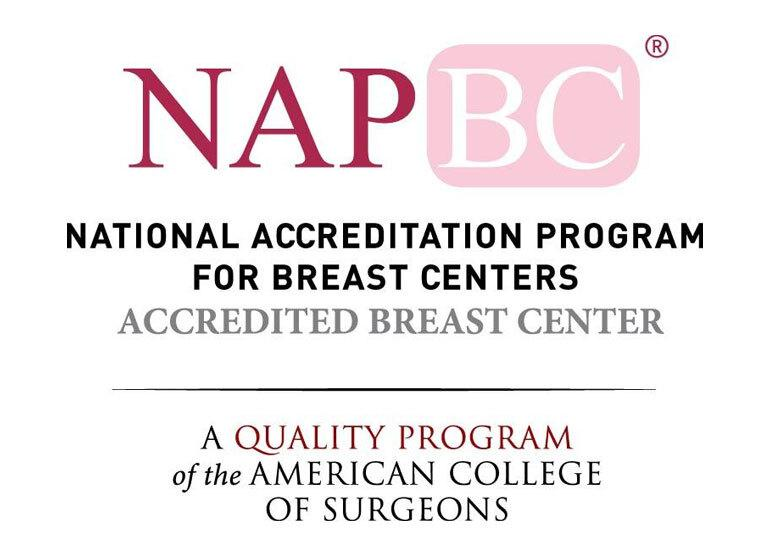 An accredited breast center from the National Accreditation Program for Breast Centers/American College of Surgeons